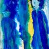 Blau, Geist, Gelb, Malerei