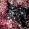 Schwarz, Rot, Abstrakt, Malerei