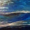 Welle, Meer, Blau, Malerei