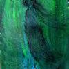 Grün, Windbraut, Blau, Malerei