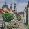 Dom, Fulda, Gasse, Häuser