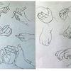 Kleinkindhand, Hand, Studie, Haltung
