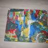 Acrylmalerei, Wand, Gemälde, Dekoration