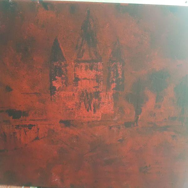 Gemälde, Dom, Acrylmalerei, Kirche, Malerei, Abstrakte kunst