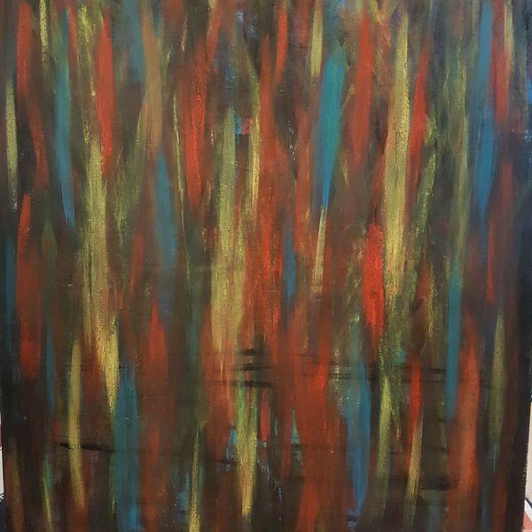 Acrylmalerei, Abstrakt, Acrylpainting, Abstrakte kunst, Gemälde, Malerei