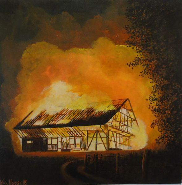 Wandbild, Landschaft, Malen, Wunschbild, Malerei, Modern art