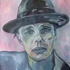 Ölmalerei, Beuys, Hut, Malerei