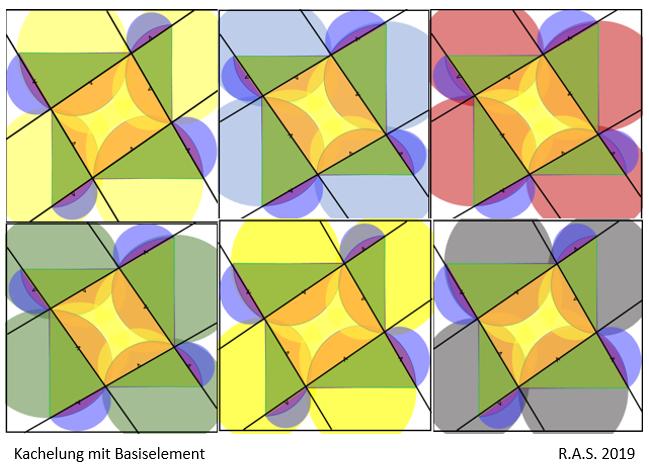 Geometrie, Kachelung, Konkrete kunst, Repetition, Digitale kunst