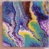 Farben, Acrylmalerei, Pouring, Mischtechnik