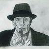 Beuys, Bleistiftzeichnung, 20 x30, Zeichnungen