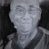 Menschen, Dalai lama, Zeichnungen