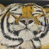 Tiger, Pastellmalerei, Mischtechnik,