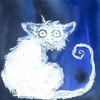 Fantasie, Blau, Tiere, Aquarell