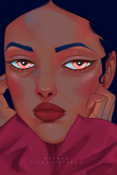 Illustration, Digitale kunst, Portrait, Menschen, Farben
