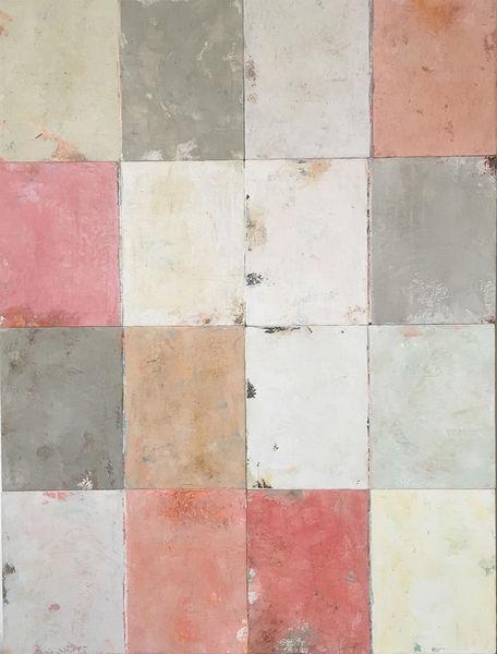 Mehrschichtig, Farbfeldmalerei, Matt, Malerei