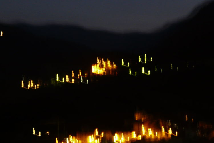 Licht, Nacht, Berge, Fotografie