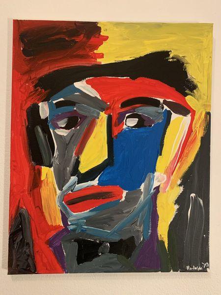 Farben, Malerei, Figur