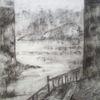 Landschaft, Architektur, Meer, Zeichnungen