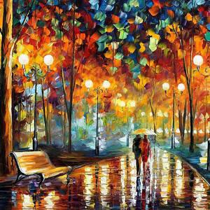 ´´herbstimpressionen´´gerade, Erworben, Mein absoluter favorit, Angenehme melancholie, Malerei, Herbst