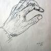 Hand, Anatomie, Bleistiftzeichnung, Zeichnungen