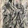 Schwarzweiß, Schwarz, Weiß, Acrylmalerei