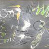 Acrylmalerei, Malerei abstrakt, Abstrakt, Schwarz weiß