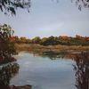 Natur, Herbst, Stille, Malerei