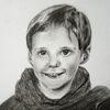 Portrait, Junge, Zeichnungen