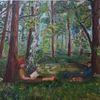 Abschalten, Wald, Sommer, Muße