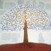 Baum, Abstrakte malerei, Fantasie, Malerei