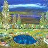 Fantasie, Abstrakte malerei, Baum, Tiere