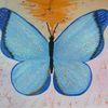 Schmetterling, Abstrakte malerei, Tiere, Malerei