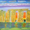 Geschichte, Abstrakte malerei, Landschaft, Stein