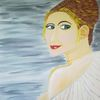 Erotik, Abstrakte malerei, Frau, Malerei