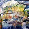Bunt, Abstrakt, Malerei