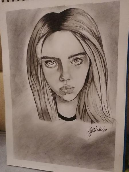 Stern, Kohlezeichnungen, Zeichnungen, Portrait