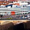 Miniaturisierung, Verkehr, Centre, Photoshop