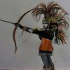 Amazone, Carneval in venedig, Venezianische maske, Bogenschießen