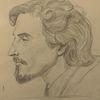 Wiener schule, Gesicht, Zeichnung, Zeichnungen