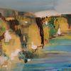 Landschaft, Atmosphäre, Meer, Malerei