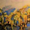 Atmosphäre, Meer, Landschaft, Malerei