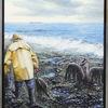 Katastrophe, Ölmalerei, Vogel, Ölpest