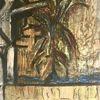 Person, Baum, Ruine, Malerei