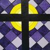 Kreuz, Erlleuchtung, Bunt, Malerei