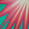 Bunt, Geometrisch, Sonnenstrahlen, Malerei