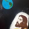 Unser herr, Weltall, Erde, Malerei