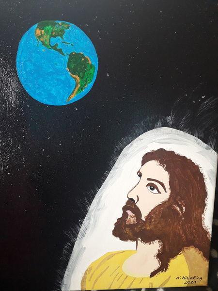 Weltall, Erde, Unser herr, Malerei, Blick, Amerika