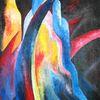 Acrylmalerei, Mager, Malerei,
