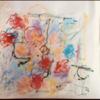 Zusammenspiel, Blumen, Linie, Malerei