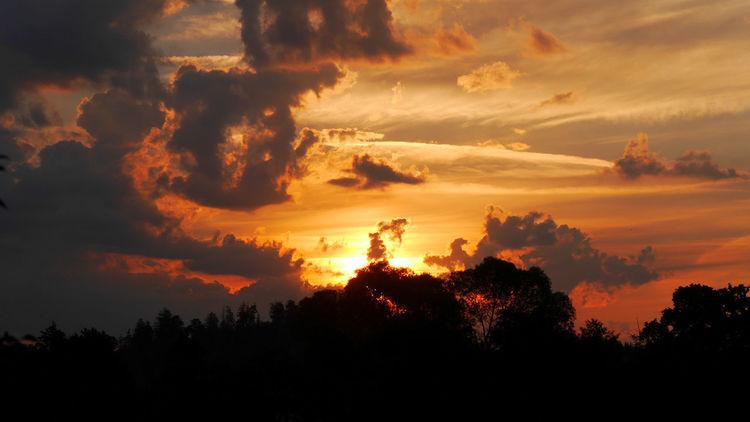 Licht, Feuer, Farben, Wolken, Rot, Fotografie
